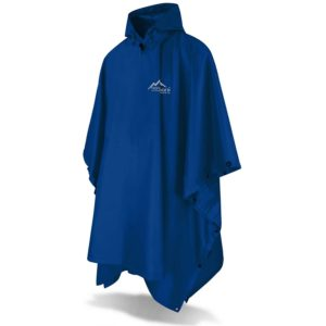normani Outdoor Sports Regenponcho mit Kapuze