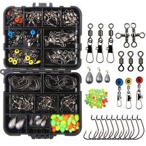 JSHANMEI 160stk/box Angeln Angehen Box Kit