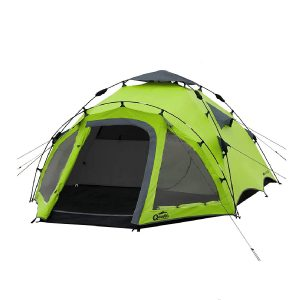 Qeedo Quick Oak 3 Personen Campingzelt, Sekundenzelt, Quick-Up-System