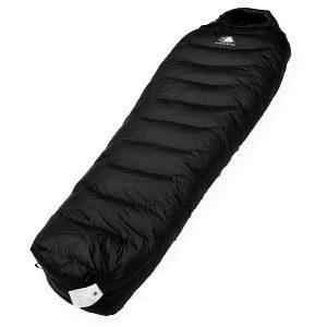 Hyke & Byke Shavano 0 Grad C Schlafsack Leicht – 3-Jahreszeiten-Daunenschlafsack unter 1 kg