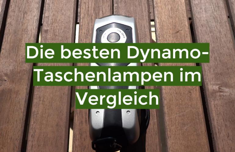 Dynamo-Taschenlampe Test 2020: Die besten 5 Dynamo-Taschenlampen im Vergleich