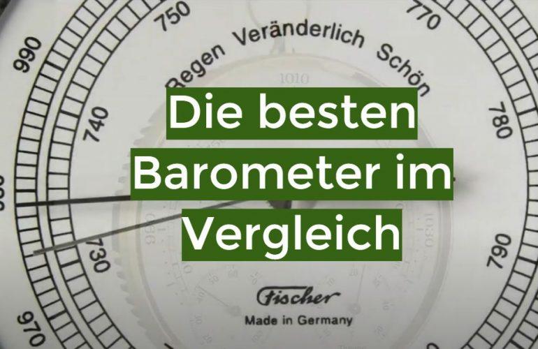 Barometer Test 2021: Die besten 5 Barometer im Vergleich