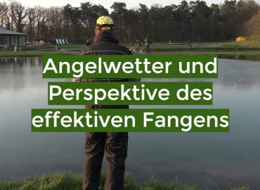 Angelwetter und Perspektive des effektiven Fangens
