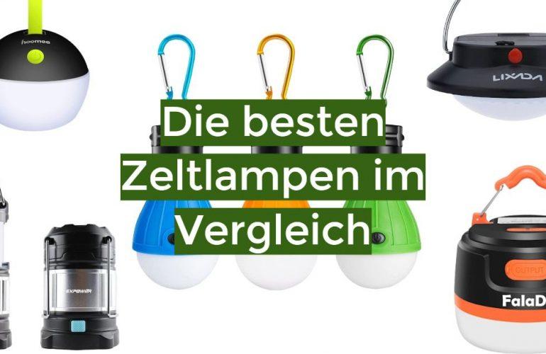 Zeltlampe Test 2021: Die besten 5 Zeltlampen im Vergleich